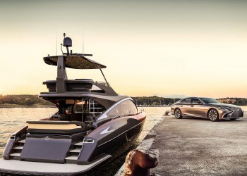 El yate Lexus está finalmente aquí y ya lo puedes comprar por $3,7 millones