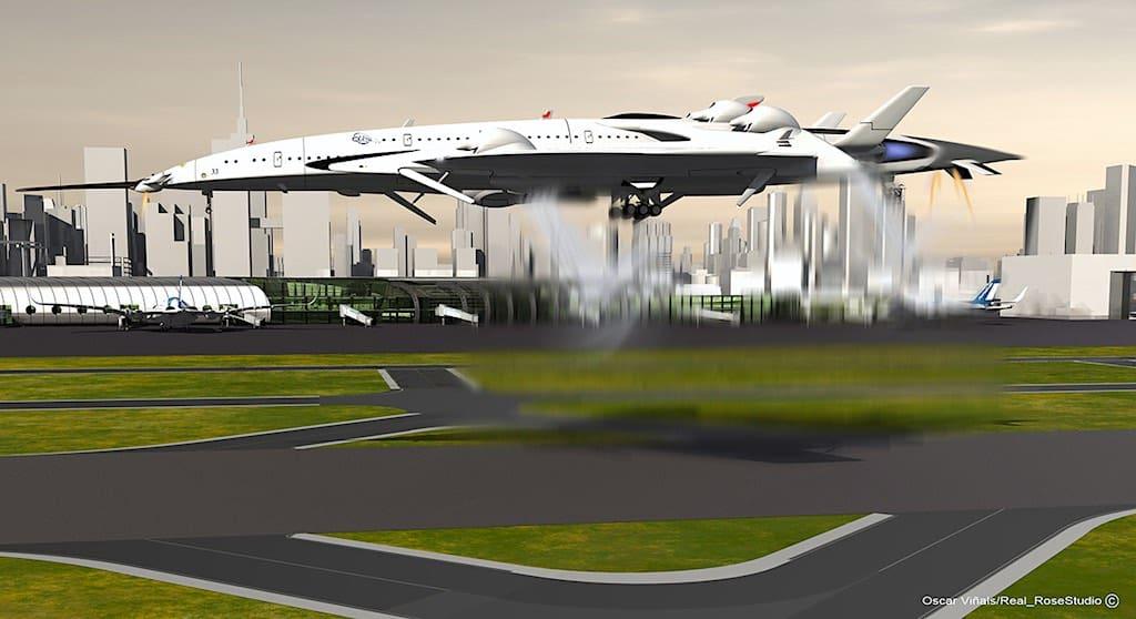 Flash Falcon: Este innovador concepto de avión supersónico te llevará de Nueva York a Londres en 2.5 horas
