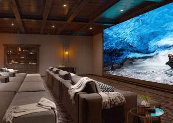 SONY presenta la pantalla de cine Crystal LED para el hogar de 19,2 metros