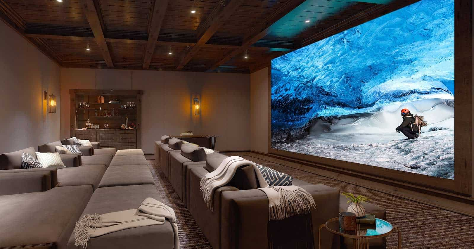 SONY presenta la pantalla de cine Crystal LED para el hogar de 19,2m
