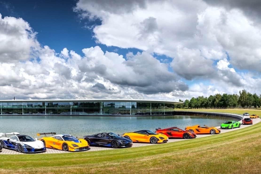 Chequea esta exclusiva colección de 23 superdeportivos McLaren