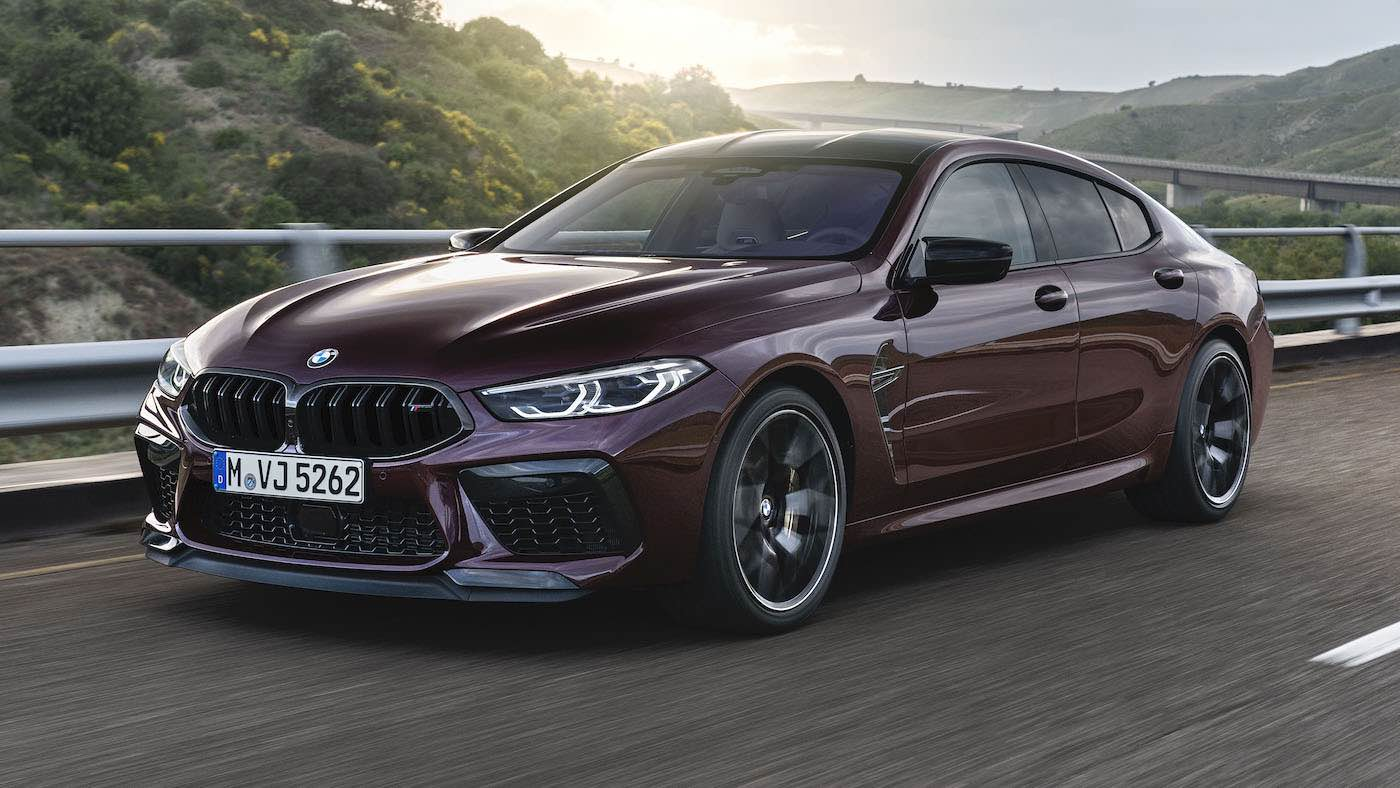 "BMW M8 Gran Coupe ""Launch Edition"""