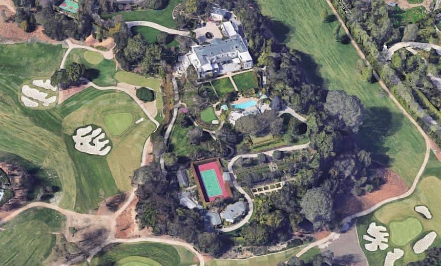 Casa Encantada en Bel-Air, La casa más cara a la venta en los Estados Unidos.