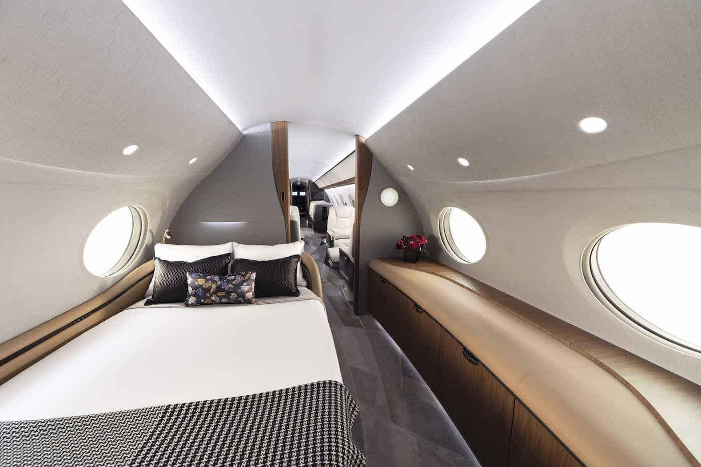 Gulfstream ha presentado el avión privado más grande del mundo, el G700