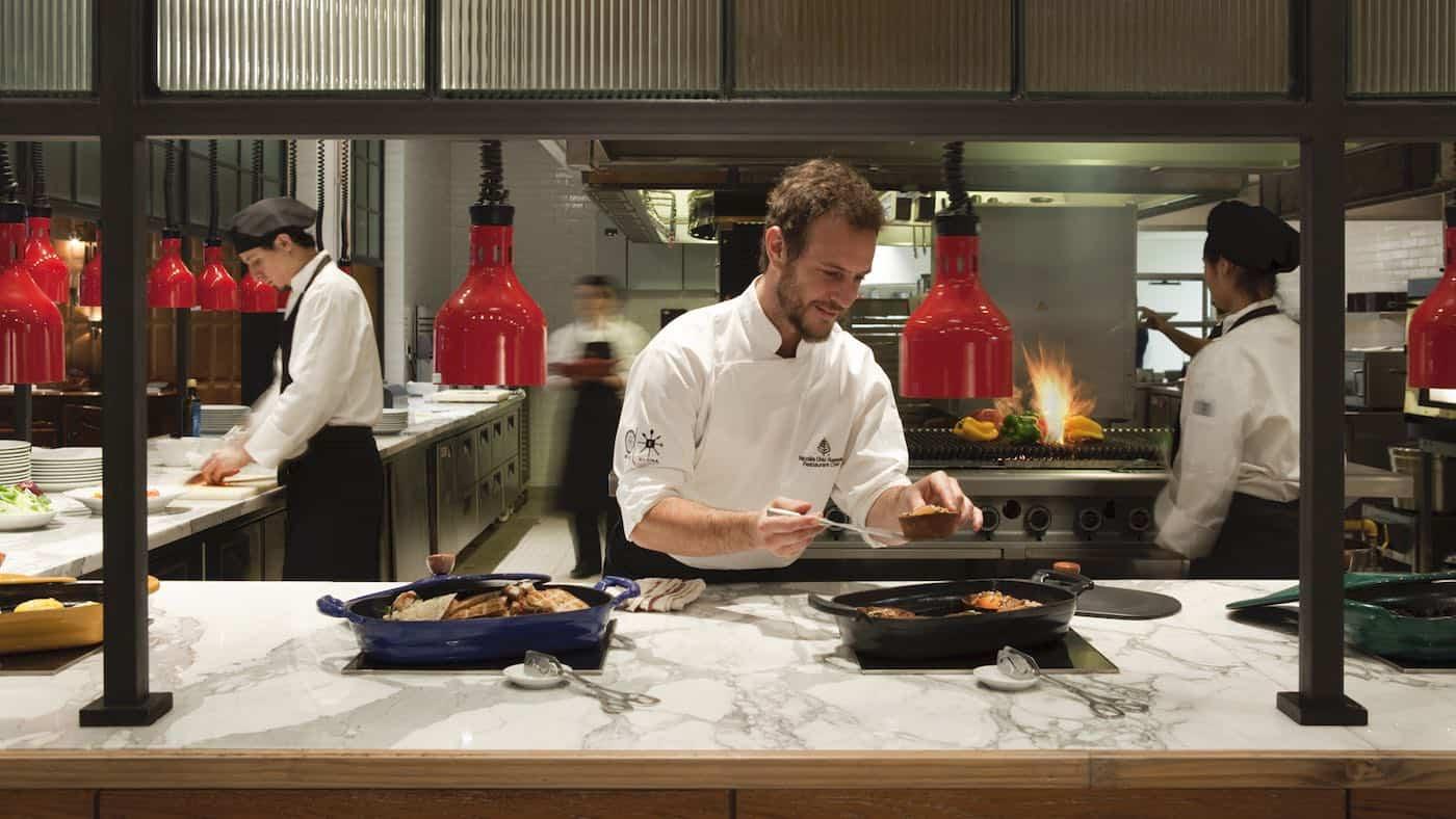 Elena Restaurant en el Four Seasons Hotel Buenos Aires