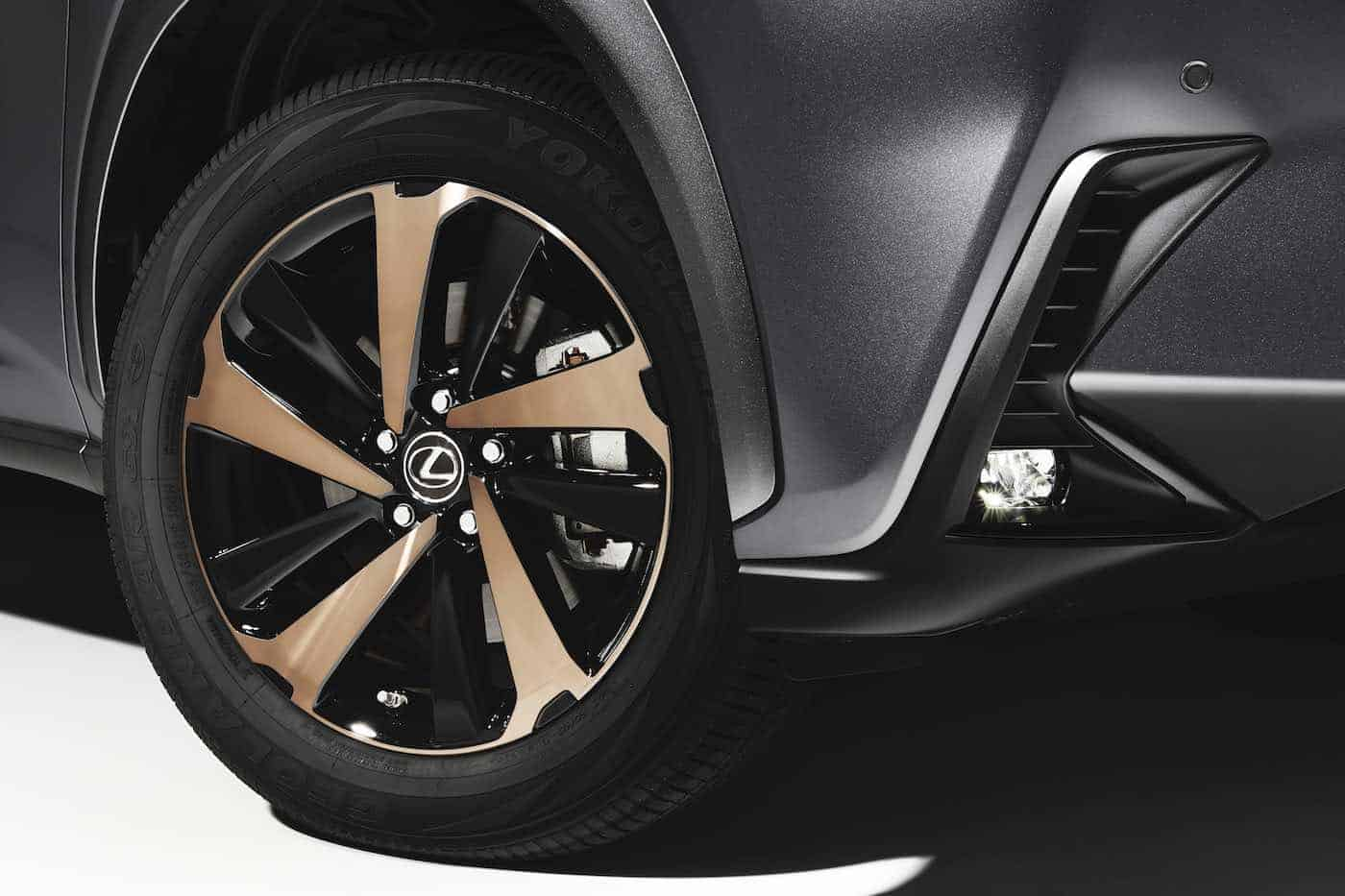 Lexus NX 300 2020 obtiene detalles de bronce