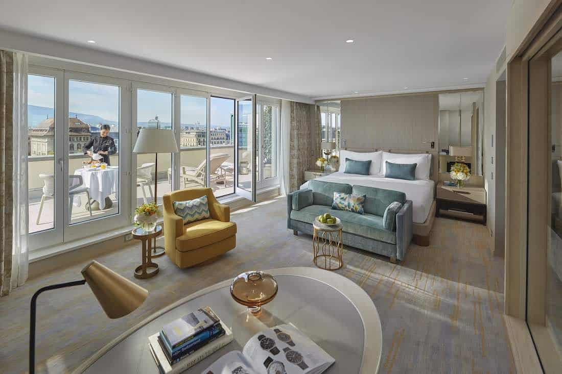 Mandarin Oriental, Ginebra estrena su exclusiva suite Royal Penthouse