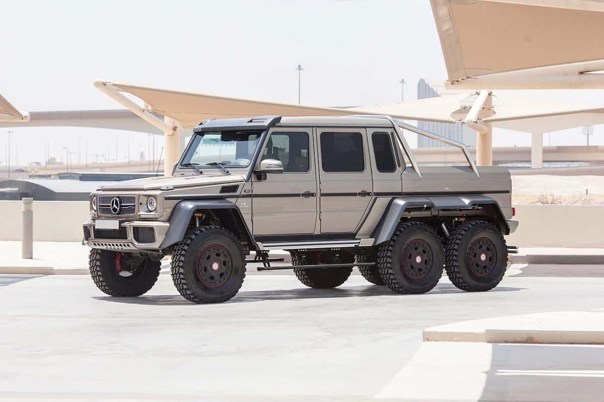 Bestial Mercedes-Benz G63 AMG 6×6 será subastada en Abu Dhabi | RM Sotheby's