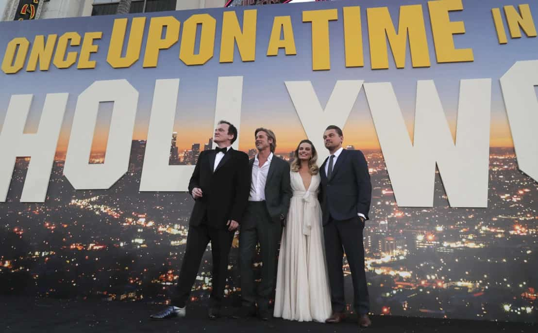 Once Upon a Time in Hollywood: Quentin Tarantino, Brad Pitt, Margot Robbie y Leonardo DiCaprio