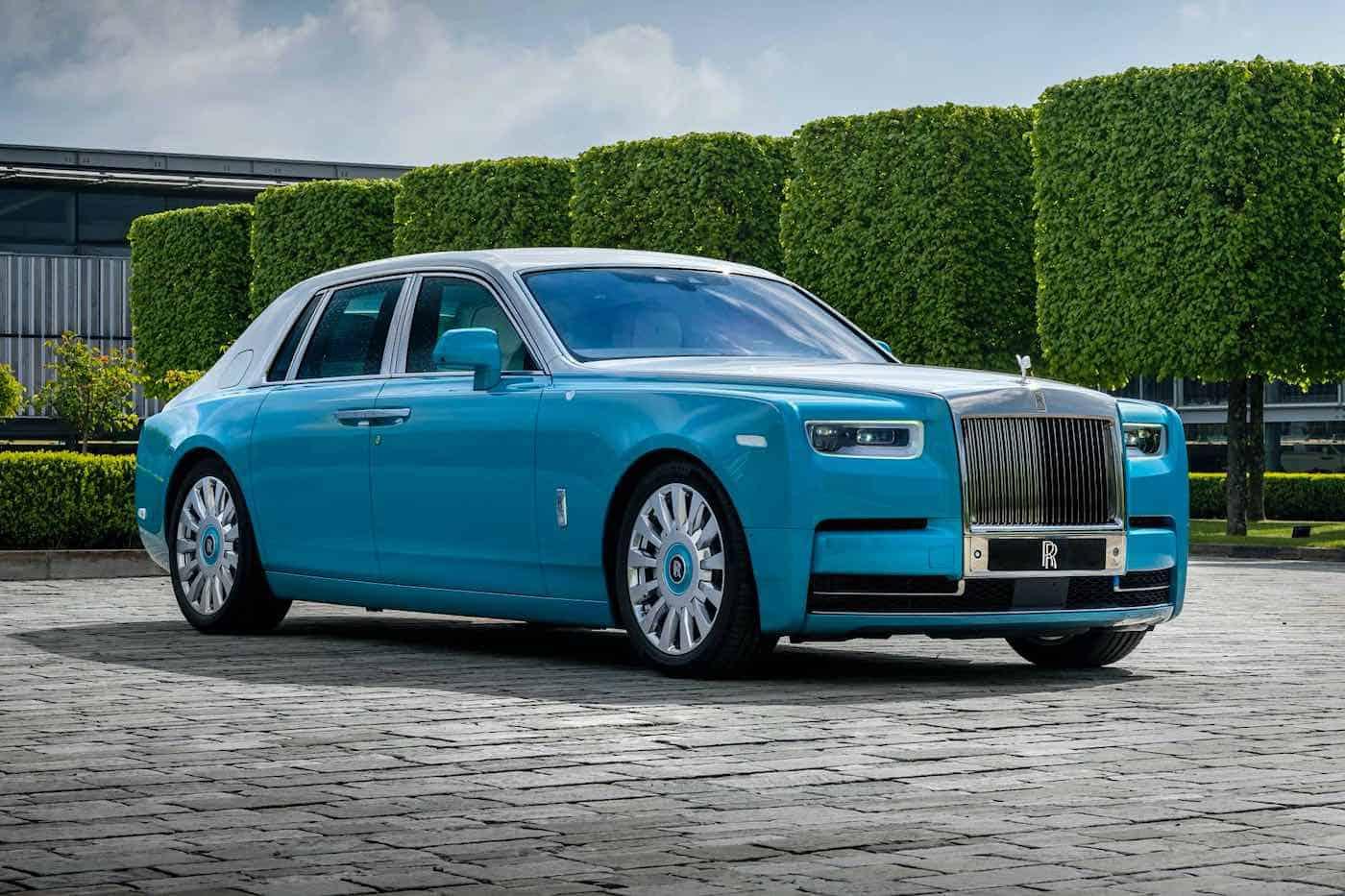 Rolls Royce presenta el Horology Phantom, hecho a la medida y en honor a los relojeros