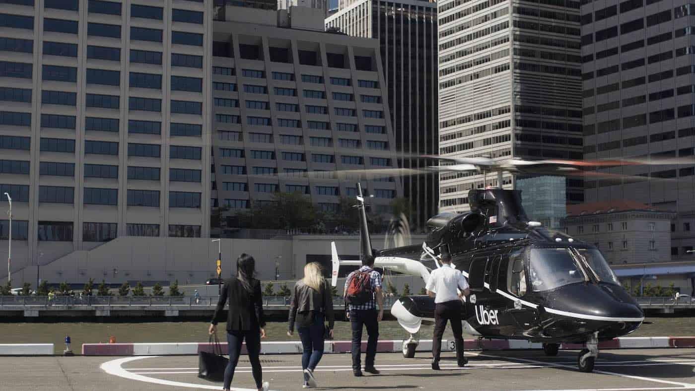 Uber lanza un servicio de helicóptero entre Manhattan y JFK por $200