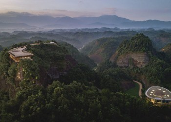 Lujoso hotel Eagle Rock Cliffs en China