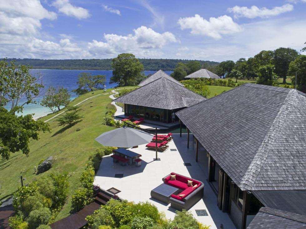 Refugio de lujo en la Isla Lataro, Vanuatu