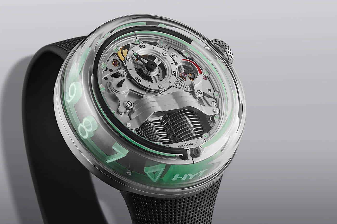 El HYT H5; una combinación entre ciencia y relojería de $55.000