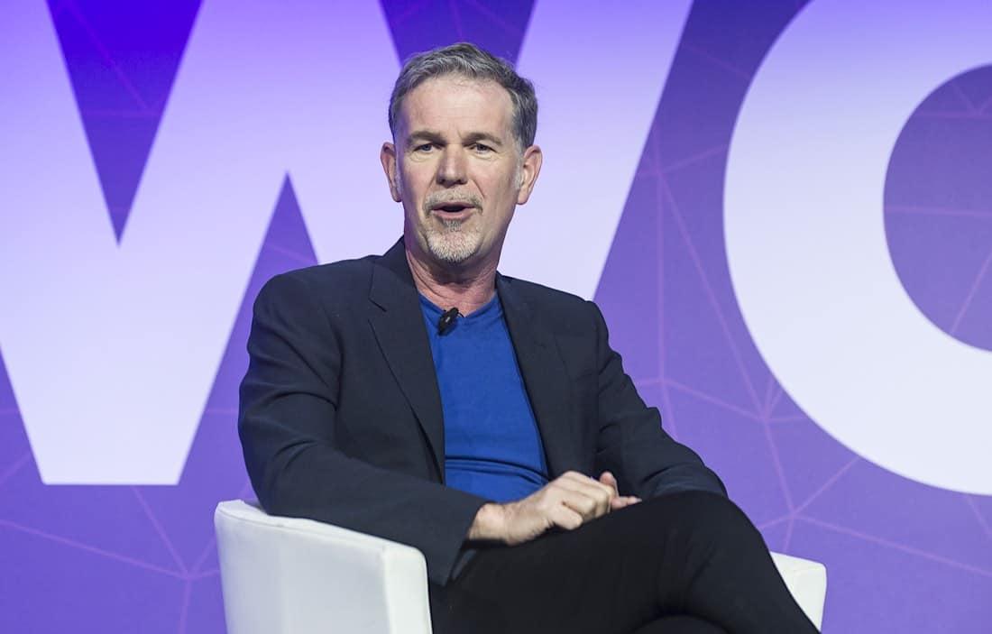 Reed Hastings, cofundador y actual CEO de Netflix