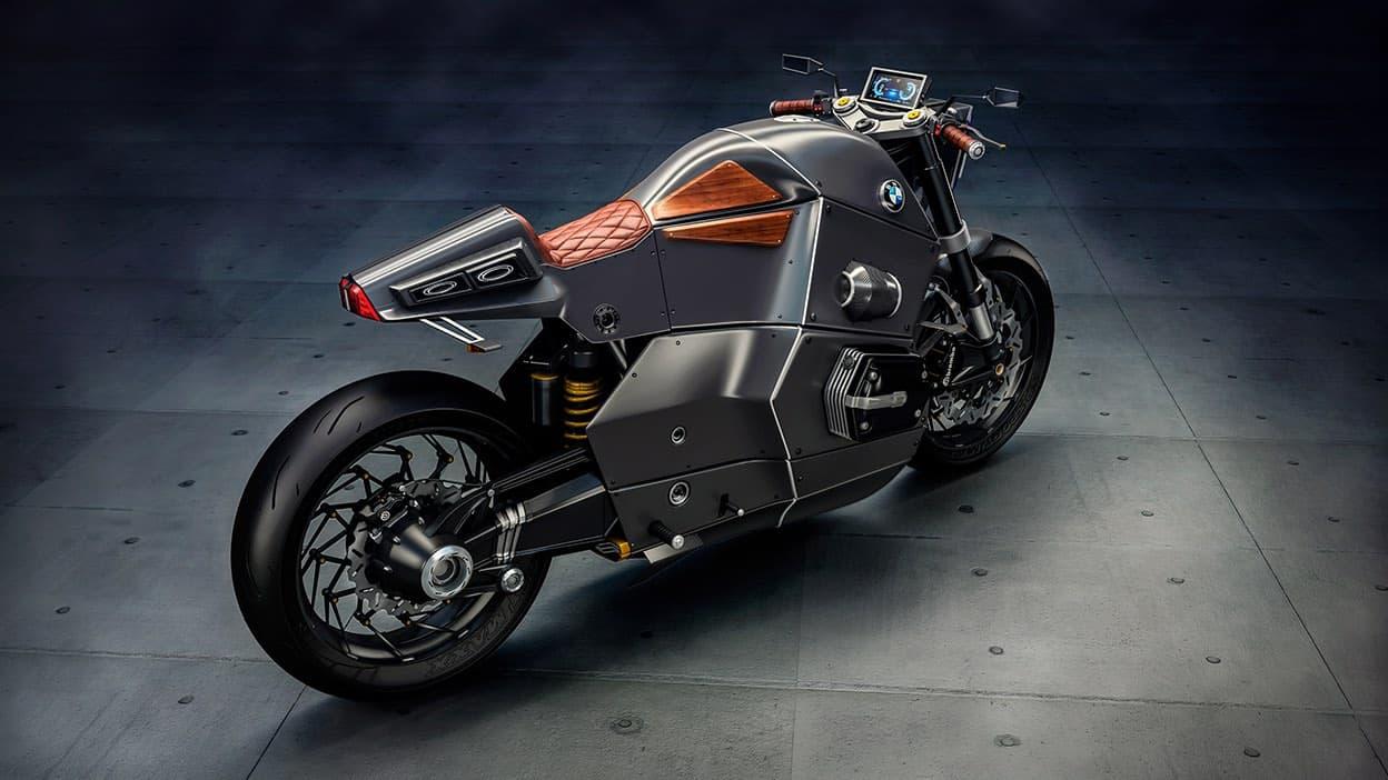 BMW Urban Racer: Bestial motocicleta concepto