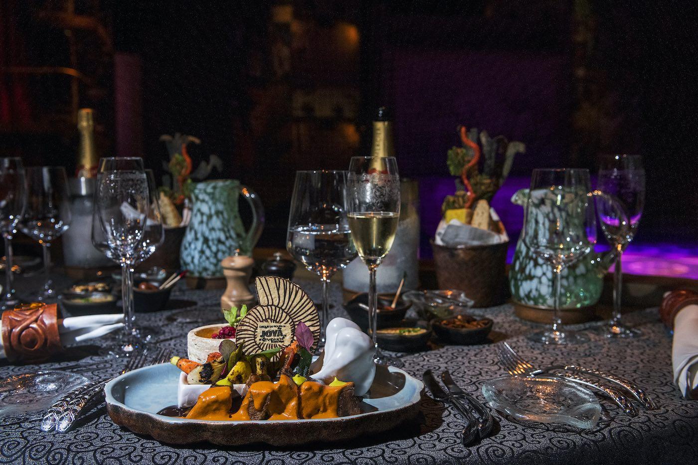 Cirque du Soleil JOYÀ renueva su experiencia gastronómica en celebración de su quinto aniversario