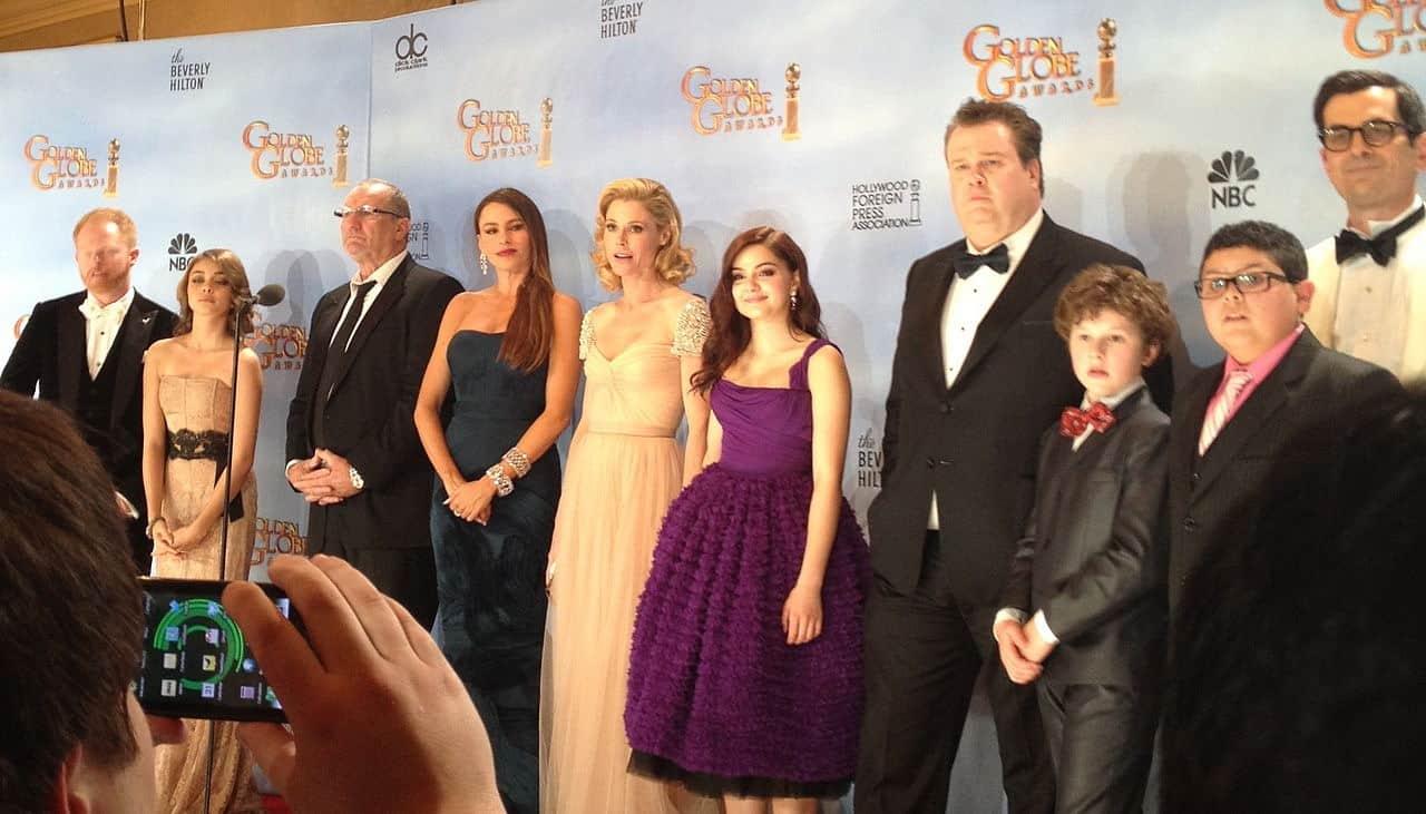 El elenco de Modern Family
