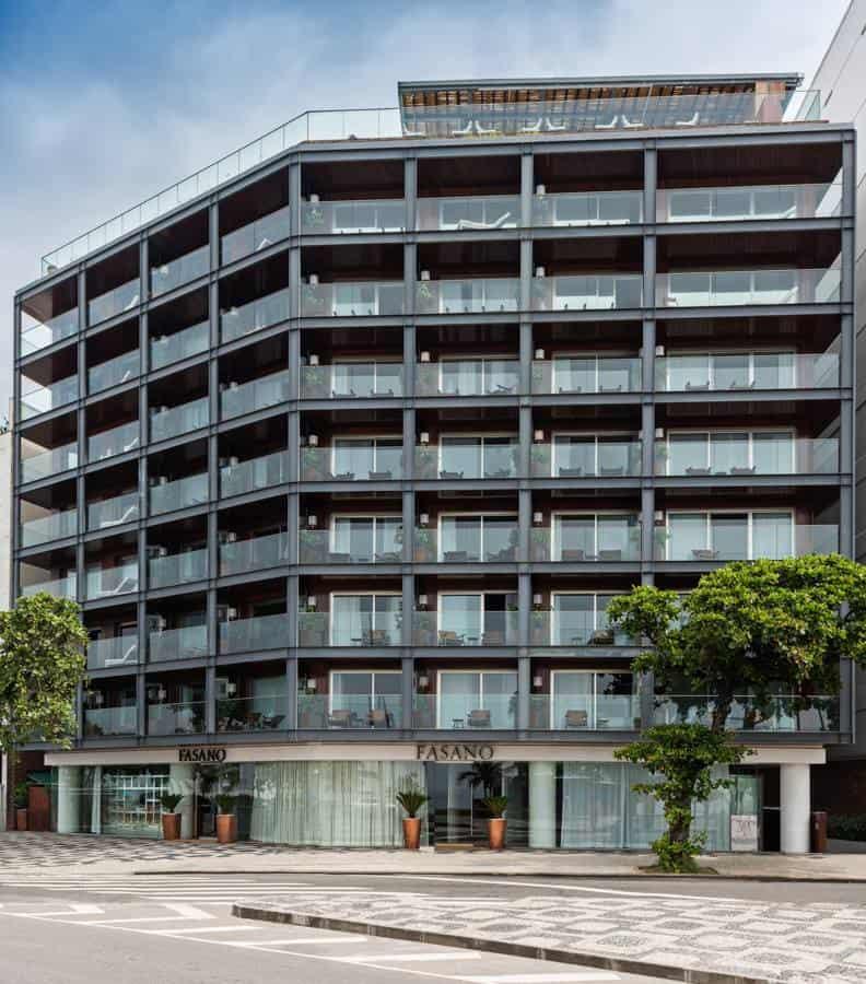 El hotel Fasano Río de Janeiro