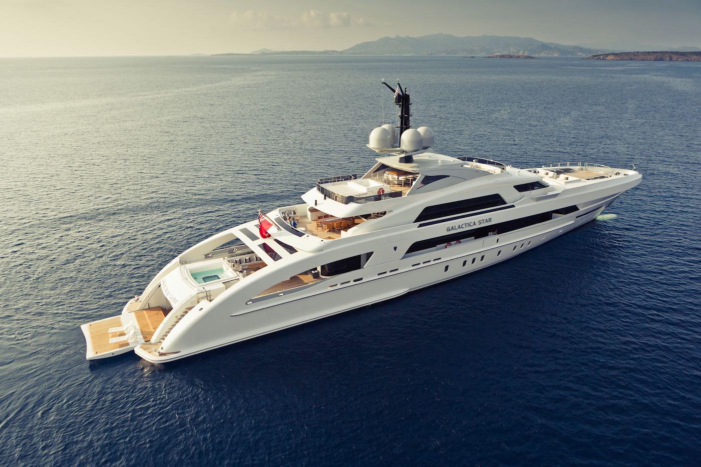Galactica Star: Súper yate de 65 metros por Heesen Yachts