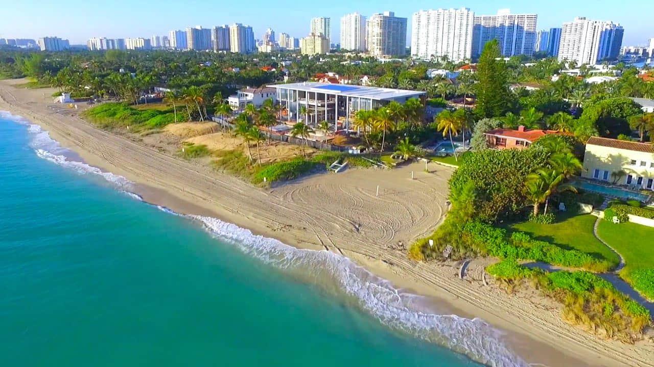 Ciudades más ricas de Florida: Golden Beach, Florida