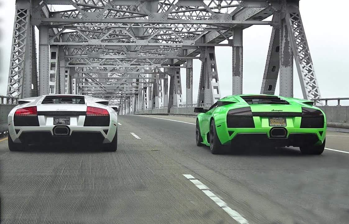 Lamborghini Murciélago LP640 vs LP640 Modificado