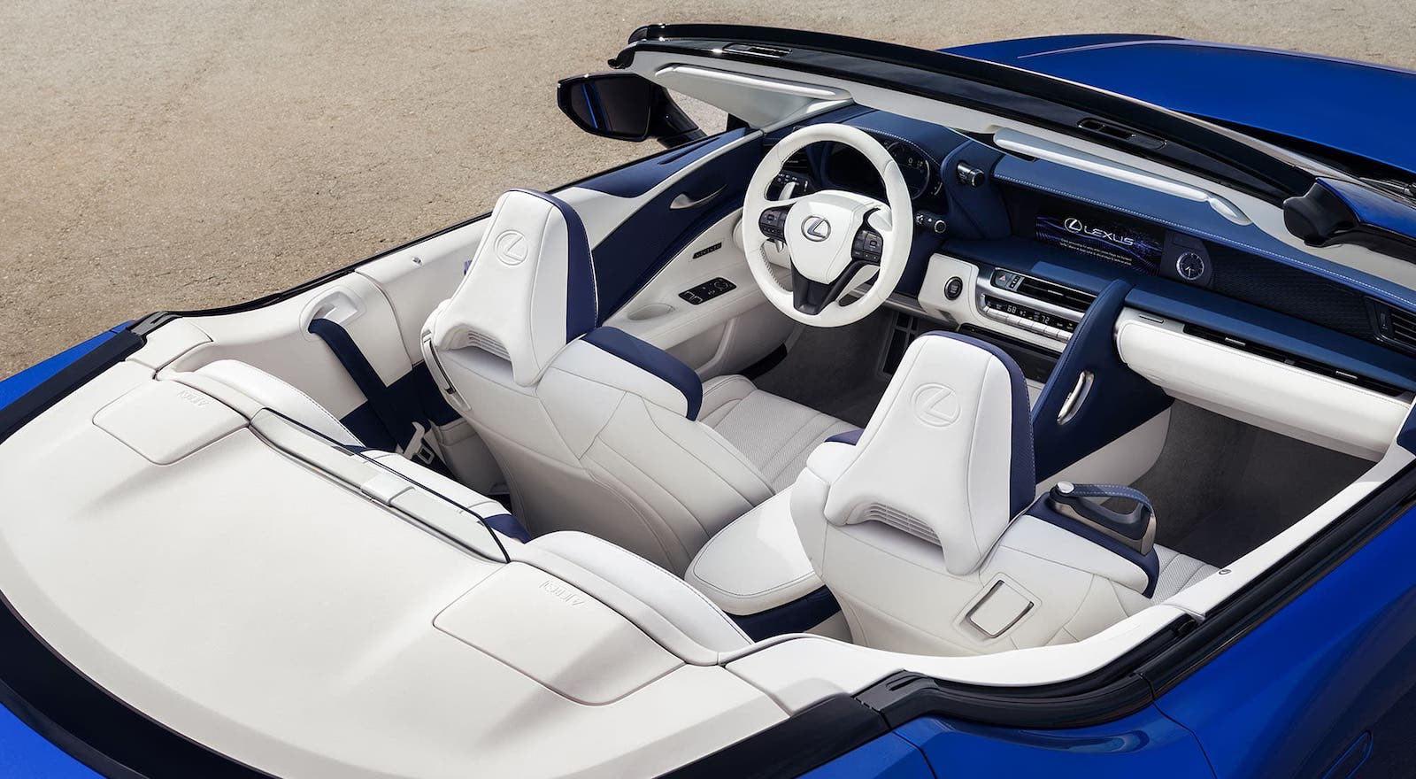El primer Lexus convertible finalmente está aquí, y es hermoso | Lexus LC 500 2021