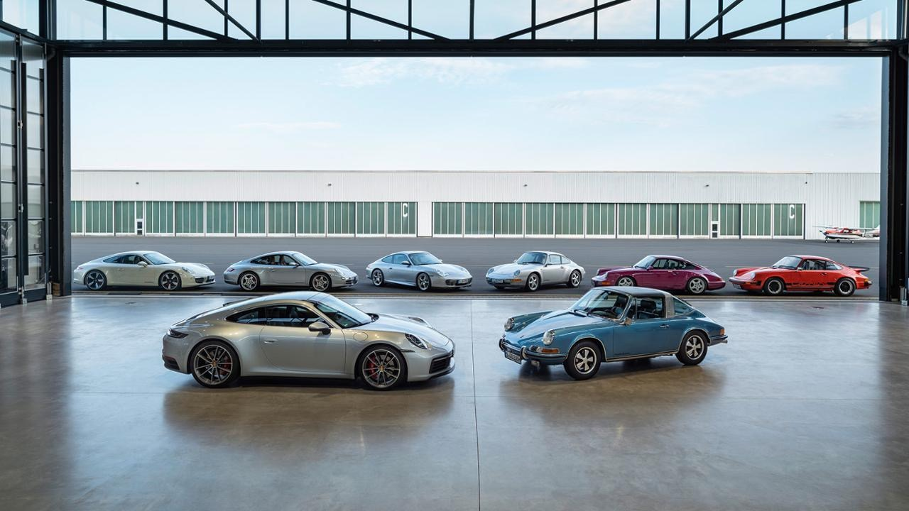 El ADN del nuevo Porsche 911 se remonta a 1963