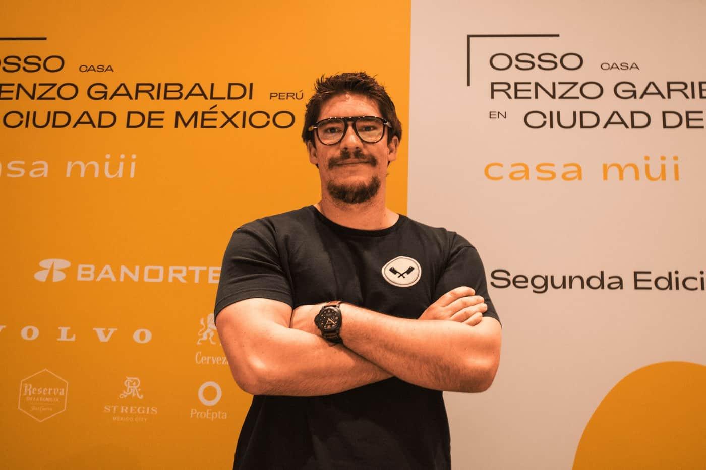 Renzo Garibaldi, llega a la CDMX para el segundo episodio de Casa Müi