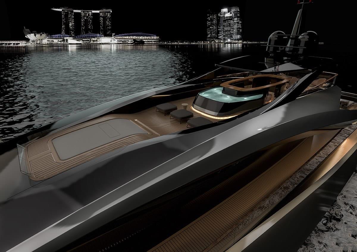 Rossinavi y Pininfarina colaboran en el nuevo concepto de súperyate Super Sport 65