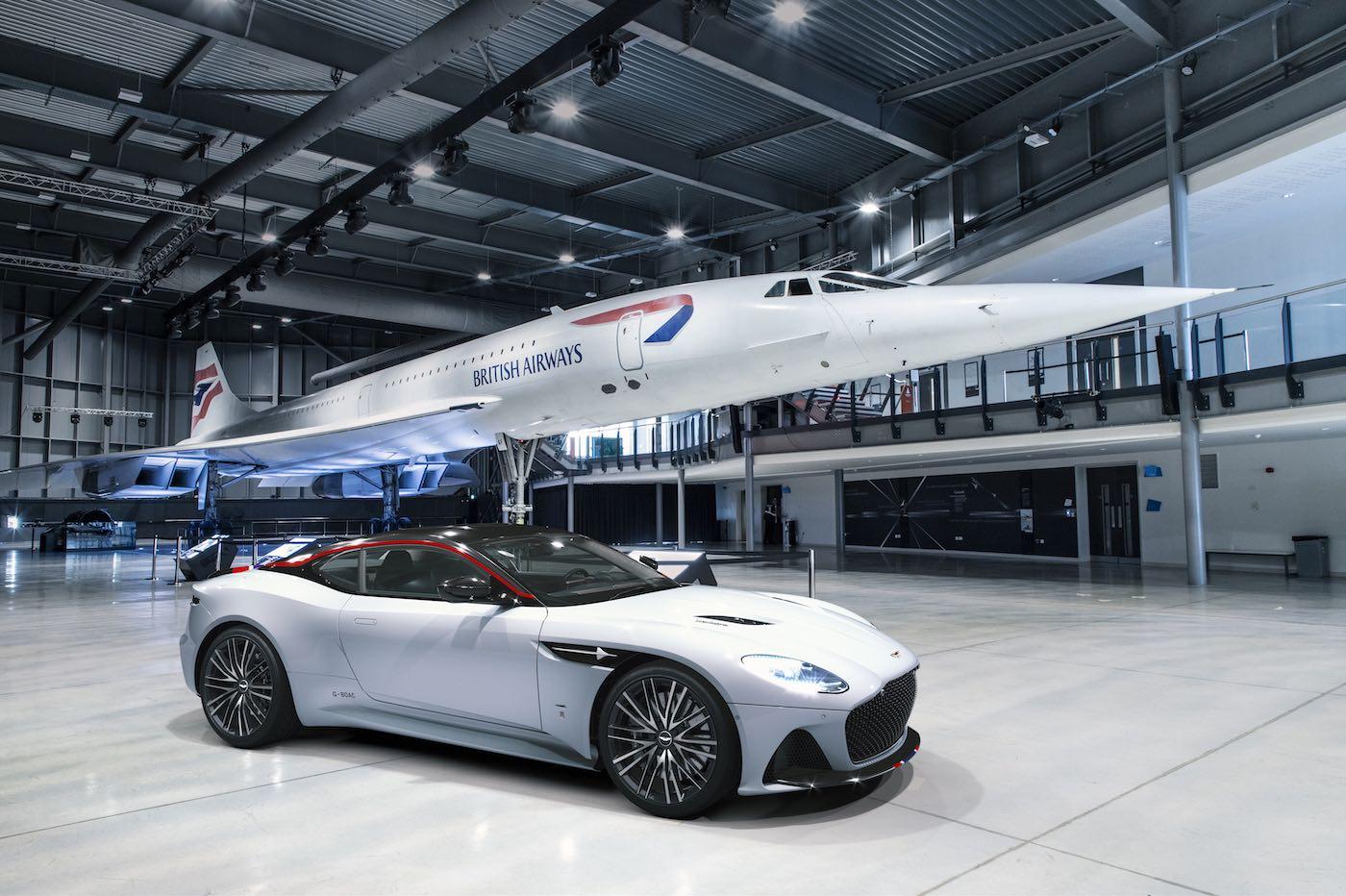 El Aston Martin DBS Superleggera Concorde Special Edition está listo para despegar