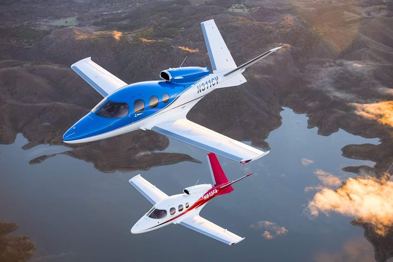 """El avión privado Cirrus Vision ahora puede """"aterrizar solo"""""""