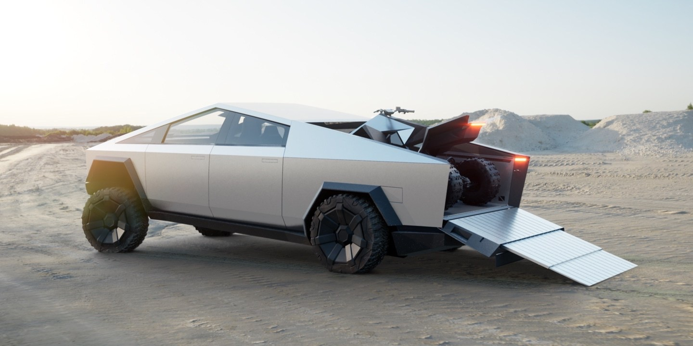 Elon Musk presentó su primera pickup Tesla Cybertruck