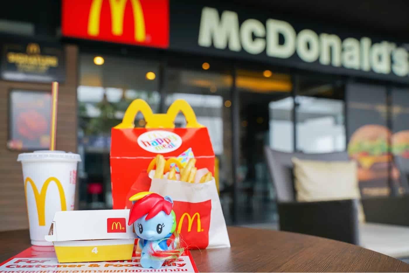 Surprise Happy Meal de McDonald's