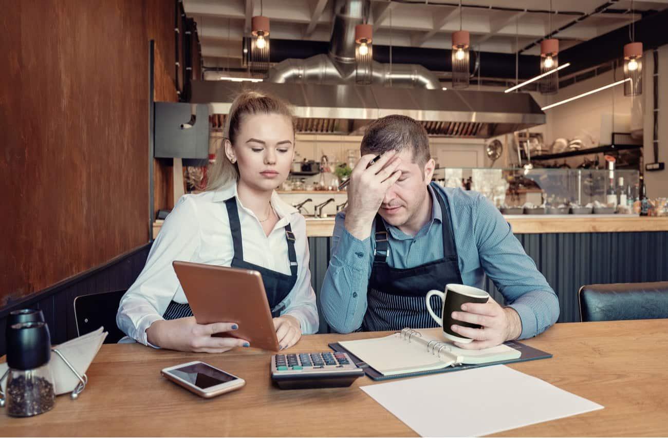 Empresarios agobiados por problemas de finanzas