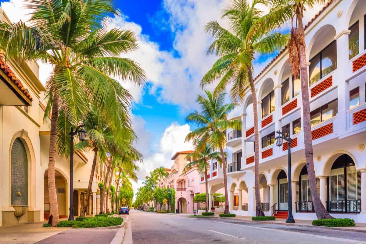 Ciudades más ricas de Florida: Palm Beach