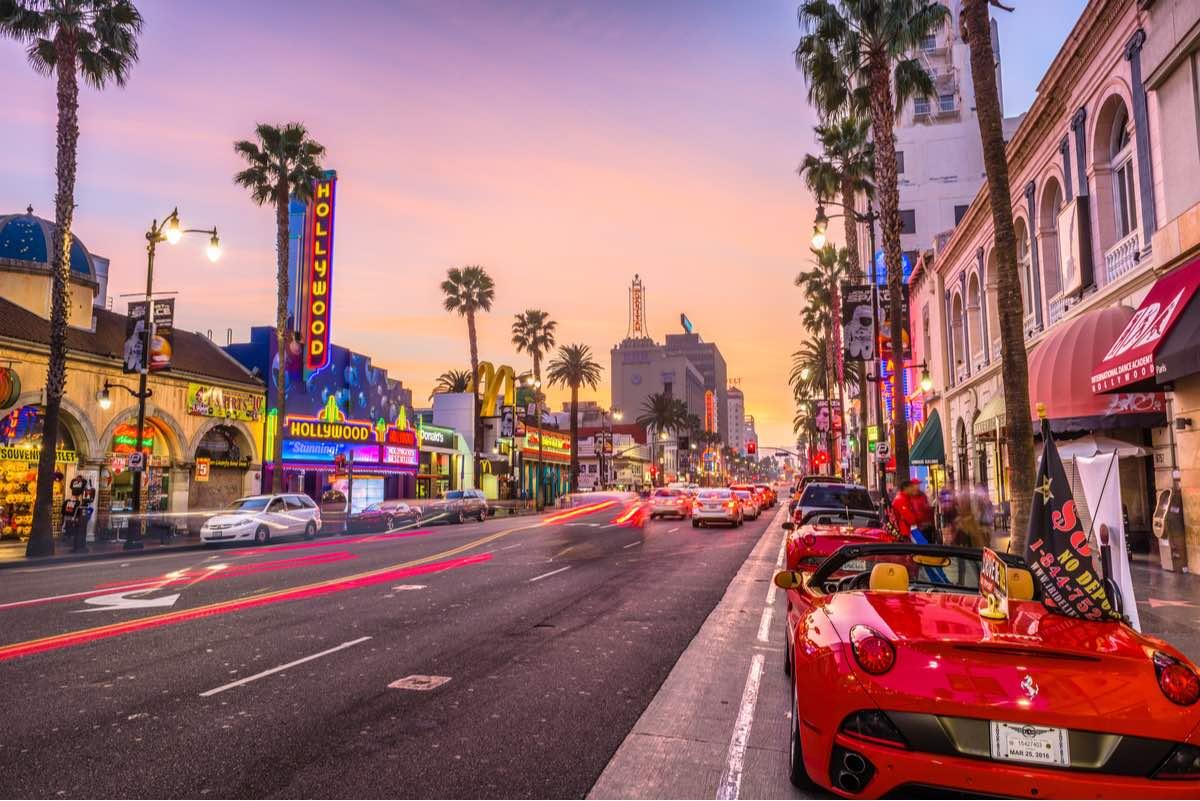 Hollywood Boulevard, Los Ángeles, California