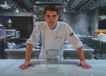 Diego Dato, chef revelación de los Premios Mesa Abierta
