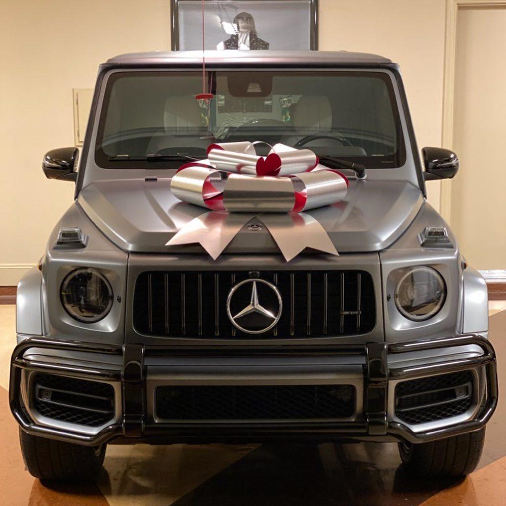 La SUV Mercedes-Benz G63 que el famoso boxeador Floyd Mayweather regalo a su hija para Navidad