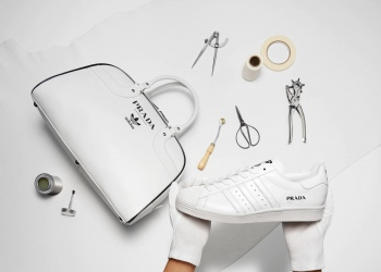 Prada lanza su primera colaboración edición limitada con Adidas