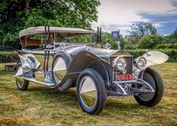 Rolls-Royce Silver Ghost Torpedo Skiff de 1919