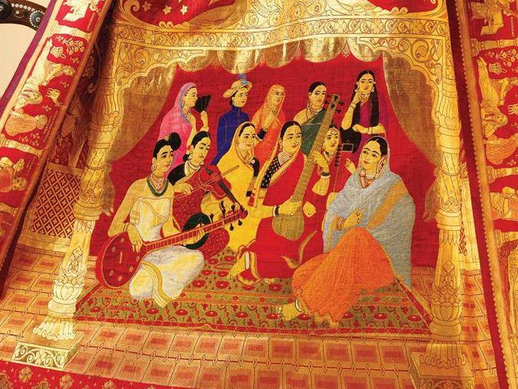 El Sari más caro del mundo, cuesta $75.000