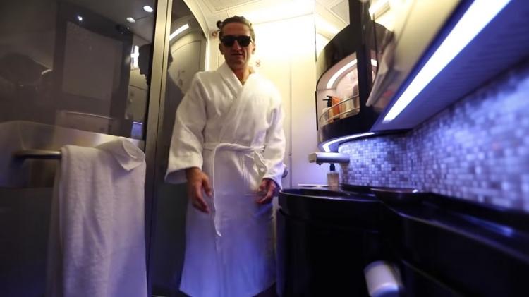 La suite de avión más caro del mundo