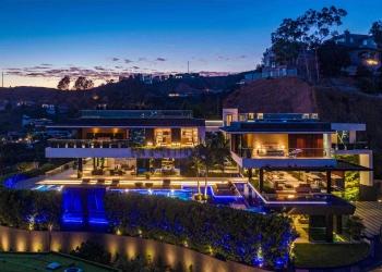 Esta lujosa mansión de 20.000 pies cuadrados en Hollywood Hills, California se acaba de vender por $35,5 millones