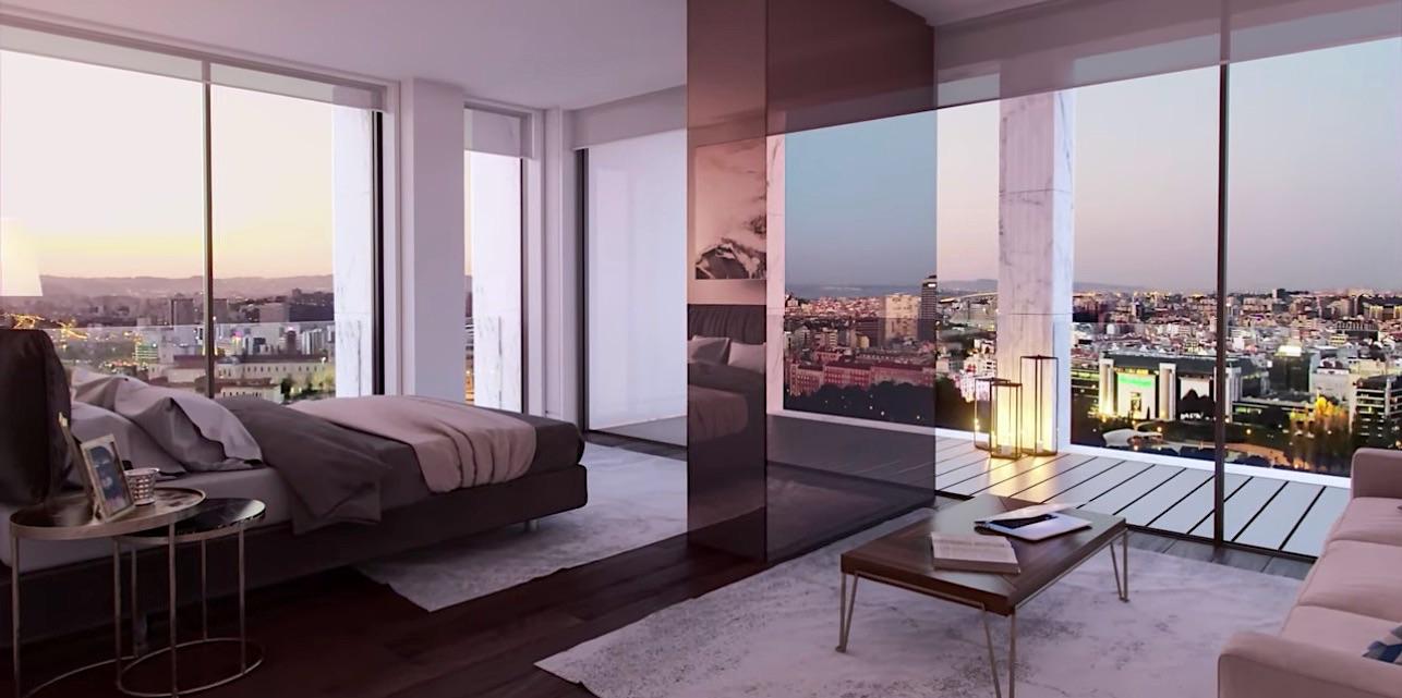 Cristiano Ronaldo compra el penthouse más caro y lujoso jamás vendido en Lisboa