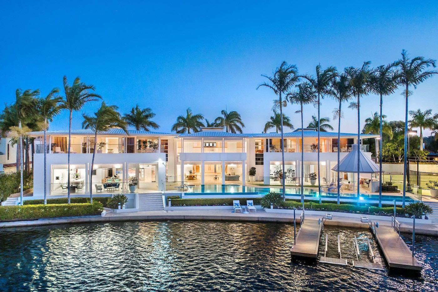 Hayven: una lujosa y espectacular propiedad frente al mar en Queensland, Australia