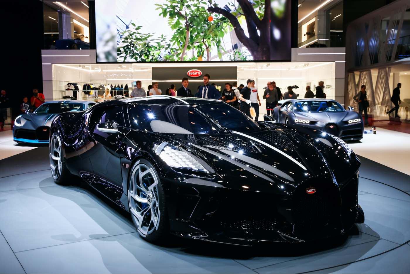 Bugatti La Voiture Noire: el coche más caro del mundo en 2019