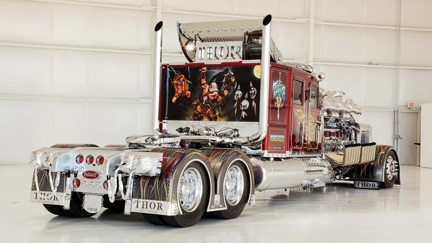 Thor24: camión modificado por Mike Harrah