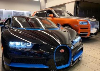 Bugatti Chiron del rapero 50 Cent