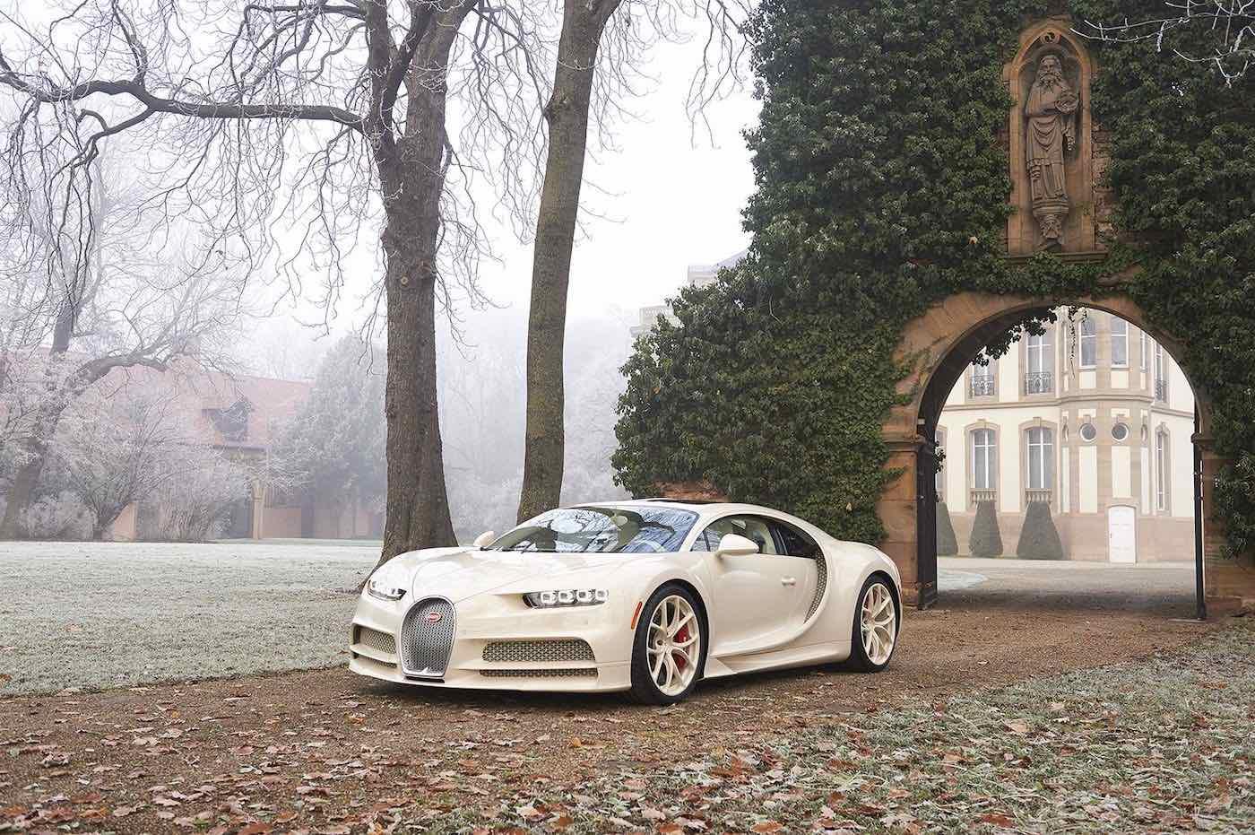 Bugatti Chiron Hermès Edition
